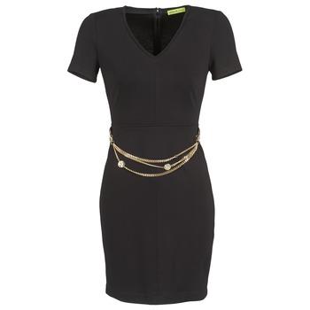 Textil Ženy Krátké šaty Versace Jeans NDM911 EASY Černá