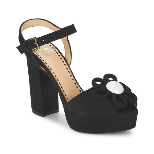 Boty Ženy Sandály Moschino Cheap & CHIC CA1617 Černá