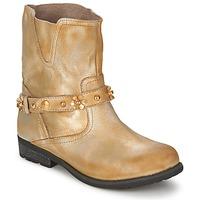 Boty Ženy Kotníkové boty Moschino Cheap & CHIC CA21013 Zlatá