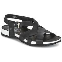 Boty Muži Sandály Panama Jack FALCON Černá