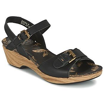 Boty Ženy Sandály Panama Jack LAURA Černá
