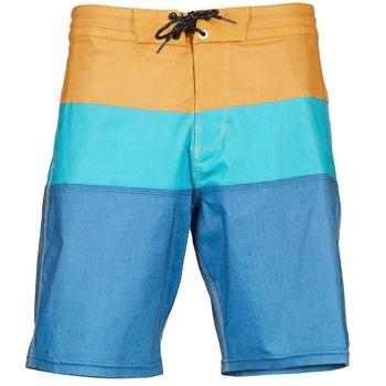 Textil Muži Plavky / Kraťasy Billabong TRIBONG LO TIDES Modrá / Béžová