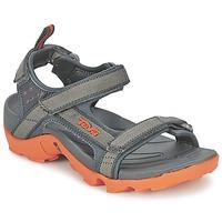 Boty Chlapecké Sportovní sandály Teva TANZA Šedá