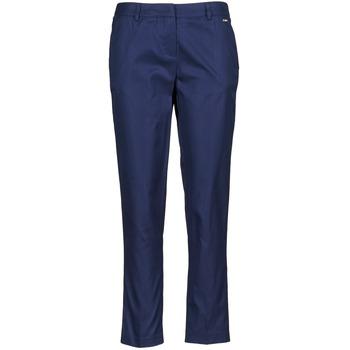 Textil Ženy Tříčtvrteční kalhoty La City PANTD2A Modrá