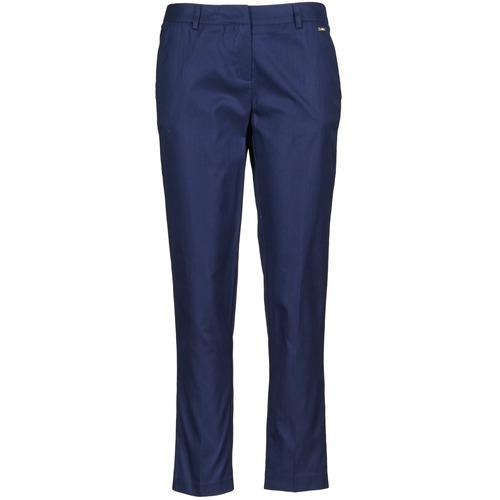 Zkrácené kalhoty 7/8 a ¾ La City PANTD2A Modrá 350x350