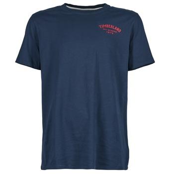 Textil Muži Trička s krátkým rukávem Timberland SS KENNEBEC RIVER Tmavě modrá