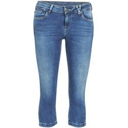 Textil Ženy Tříčtvrteční kalhoty Teddy Smith PANDOR COURT COMF USED Modrá