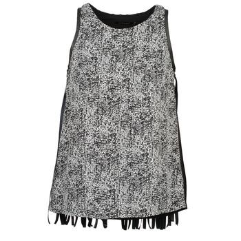 Textil Ženy Tílka / Trička bez rukávů  Color Block PINECREST Šedá / Černá / Bílá