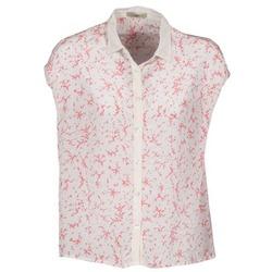 Textil Ženy Košile s krátkými rukávy Lola CANYON Bílá / Červená