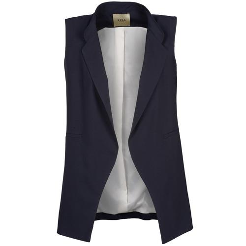 Textil Ženy Saka / Blejzry Lola VONIG Tmavě modrá