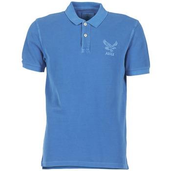 Textil Muži Polo s krátkými rukávy Aigle BELAQUA Modrá