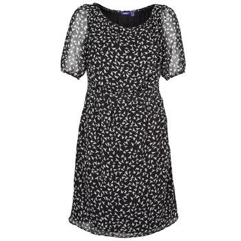Textil Ženy Krátké šaty Mexx 13LW130 Černá / Bílá