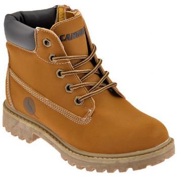 Boty Chlapecké Kotníkové boty Canguro  Béžová