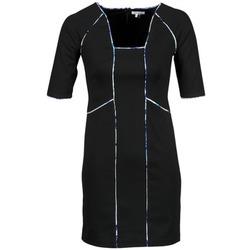 Textil Ženy Krátké šaty Manoukian 613369 Černá