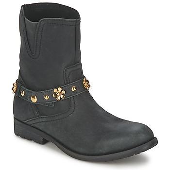 Boty Ženy Kotníkové boty Moschino Cheap & CHIC CA21013G1ZCE Černá
