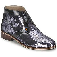 Boty Ženy Kotníkové boty C.Petula PEGASE Stříbřitá