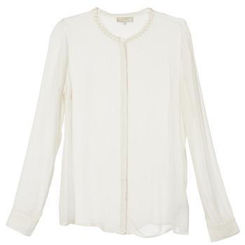 Textil Ženy Košile / Halenky Cream PANSY Krémově bílá