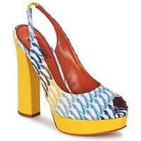 Boty Ženy Lodičky Missoni XM005 Žlutá / Modrá