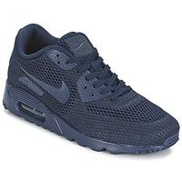 Boty Muži Nízké tenisky Nike AIR MAX 90 ULTRA BREATHE Modrá