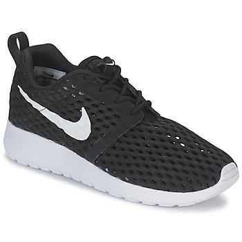 Boty Chlapecké Nízké tenisky Nike ROSHE ONE FLIGHT WEIGHT BREATHE JUNIOR Černá