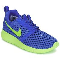 Boty Chlapecké Nízké tenisky Nike ROSHE ONE FLIGHT WEIGHT BREATHE JUNIOR Modrá / Zelená