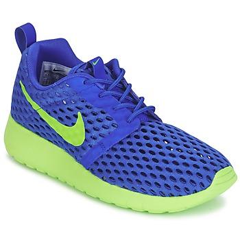 Nike Tenisky Dětské ROSHE ONE FLIGHT WEIGHT BREATHE JUNIOR - Modrá