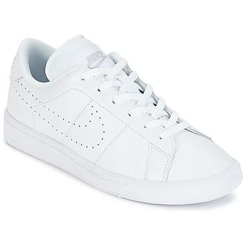 Boty Děti Nízké tenisky Nike TENNIS CLASSIC PREMIUM JUNIOR Bílá