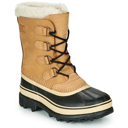 Boty Ženy Zimní boty Sorel CARIBOU Hnědá / Černá
