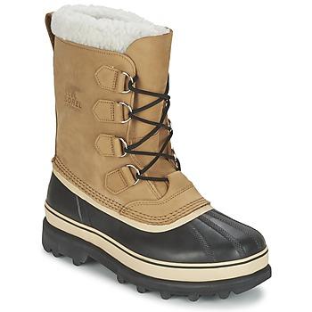 Boty Muži Zimní boty Sorel CARIBOU Béžová