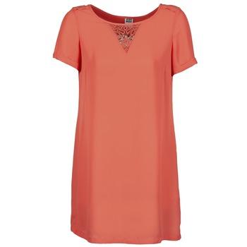 Textil Ženy Krátké šaty Vero Moda TRIPPA Korálová