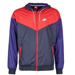 Textil Muži Větrovky Nike WINDRUNNER Tmavě modrá / Červená / Modrá