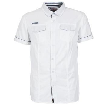 Textil Muži Košile s krátkými rukávy Deeluxe ISLANDO Bílá