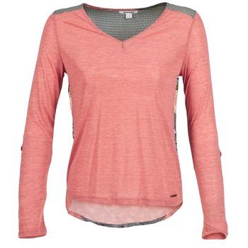 Textil Ženy Trička s dlouhými rukávy Smash TIRAMISU Růžová