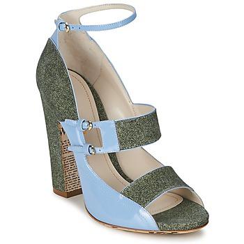 Boty Ženy Sandály John Galliano A54250 Modrá / Zelená