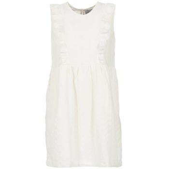 Textil Ženy Krátké šaty Compania Fantastica HETRE Krémově bílá