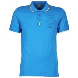 Textil Muži Polo s krátkými rukávy Kappa OMER Modrá