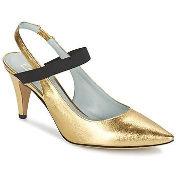 Boty Ženy Lodičky Marc Jacobs VALERY Zlatá