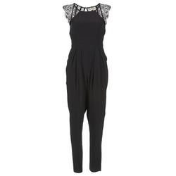 Textil Ženy Overaly / Kalhoty s laclem Stella Forest ONDONI Černá