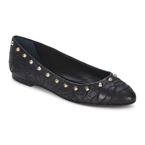 Boty Ženy Baleríny  Versace DSL787C Černá / Zlatá