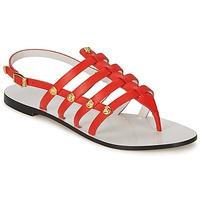 Boty Ženy Sandály Versace DSL944C Korálová