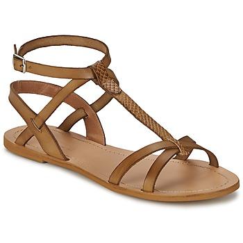 Boty Ženy Sandály So Size BEALO Hnědá