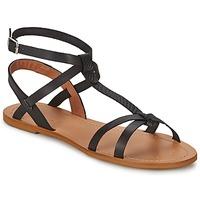 Boty Ženy Sandály So Size BEALO Černá