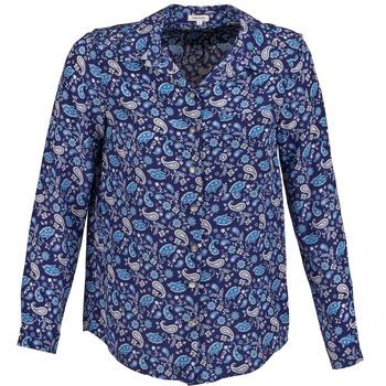 Textil Ženy Košile / Halenky Manoush BANDANA SILK Modrá