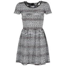 Textil Ženy Krátké šaty Manoush BIJOU ROBE Černá / Šedá