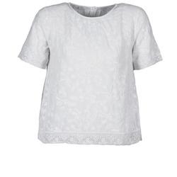 Textil Ženy Trička s krátkým rukávem Manoush COTONNADE SMOCKEE Bílá
