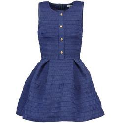 Textil Ženy Krátké šaty Manoush ELASTIC Modrá