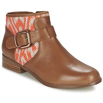 Boty Ženy Kotníkové boty Mellow Yellow VABEL Hnědá / Oranžová