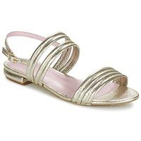Boty Ženy Sandály Mellow Yellow VEO Zlatá