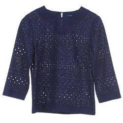 Textil Ženy Halenky / Blůzy Gant 431951 Modrá