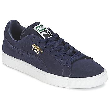 Boty Nízké tenisky Puma SUEDE CLASSIC + Tmavě modrá